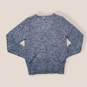 ROYAL ROBBINS fleck marble knit sweater medium